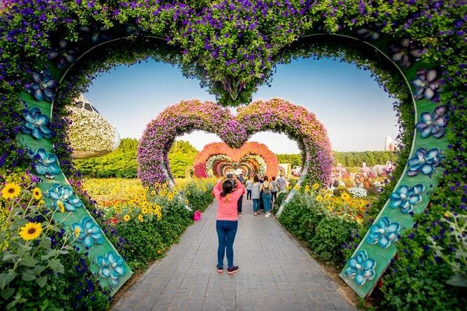Miracle Garden Tour With Entry Tickets Transfers 2021 Dubai