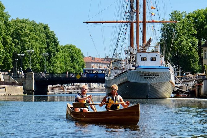 Handcrafted canoe tour in Klaipeda