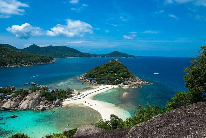 Koh Tao and Koh Nang Yuan Speedboat Tour from Koh Phangan