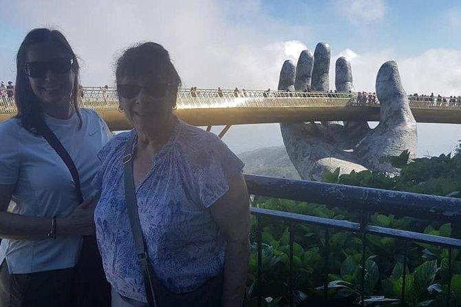 Golden Bridge Ba Na Hills & My Son Valley from Hotel in Hoi An or Da Nang City