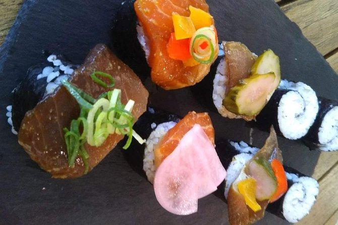 Local HAMA-WINE and Sushi Making Workshop