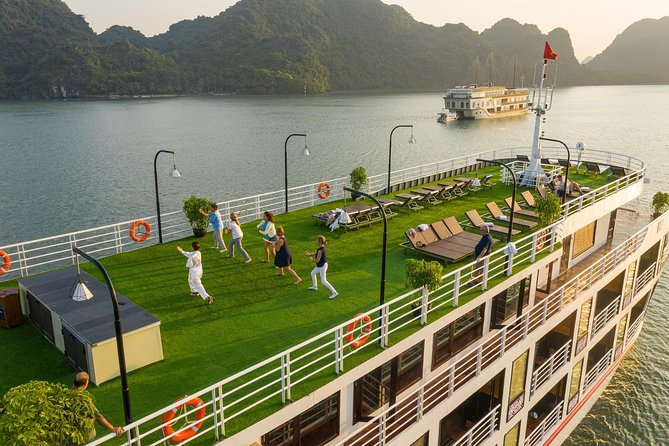 5 Star Serenity Cruise - A difference way to visit Halong bay and Lan Ha bay