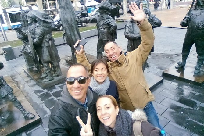 Amsterdam Walking Tour. All about History, Architecture, Traditions & Anecdotes.