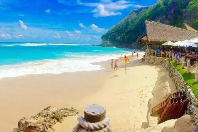 From Seminyak : Best of Sunday Beach Club & Uluwatu - Private Tour - Free WiFi