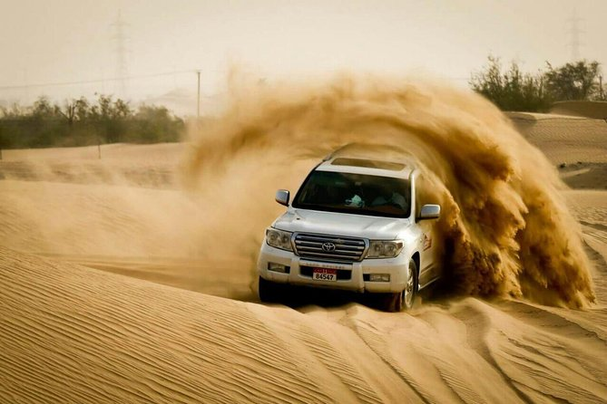 4x4 Desert Safari Abu Dhabi with BBQ Dinner
