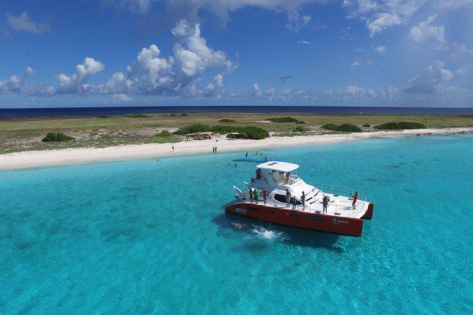 Viagem de barco para Klein Curaçao