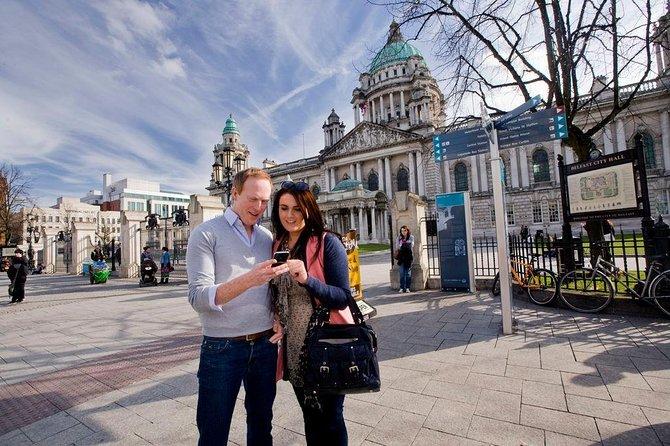 Belfast, Giant's Causeway en Dunluce Castle met Spaanstalige gids