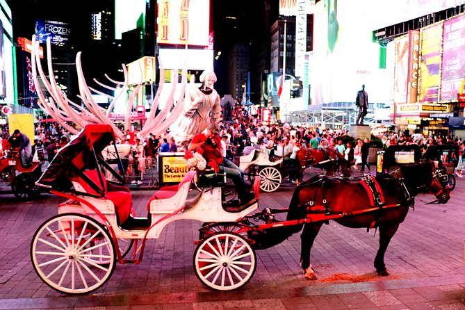 Central Park, Rockefeller & Times Square Horse Carriage Ride photo 7