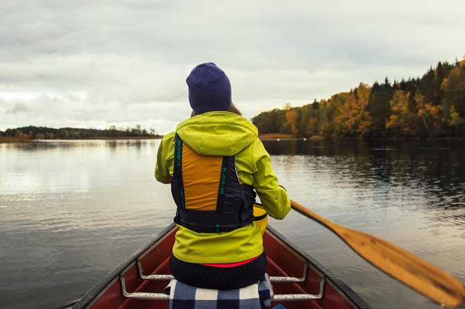 Canoe adventure in Stockholm Archipelago