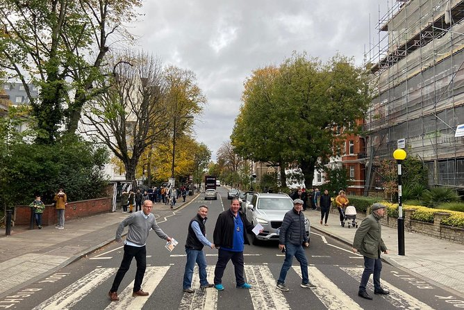 Private Beatles & Rock n Roll London Tour with Guide in Electric ⚡️ Taxi