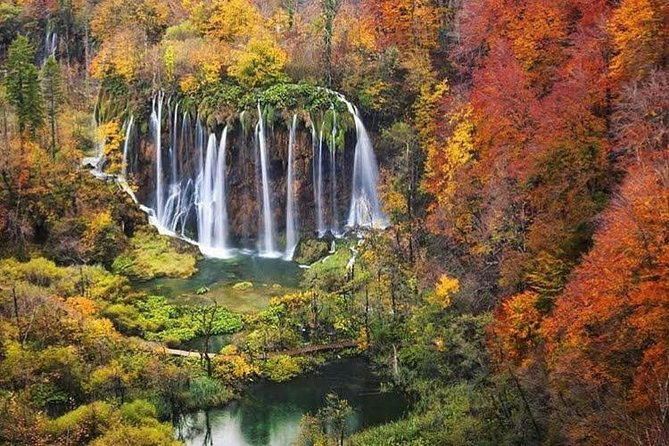 Private transfer from Split to Ljubljana with Plitvice Lakes