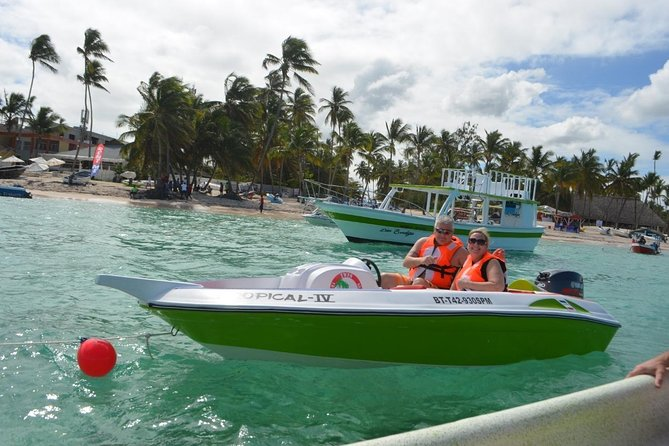 Speedboat with Snorkeling in Punta Cana photo 4
