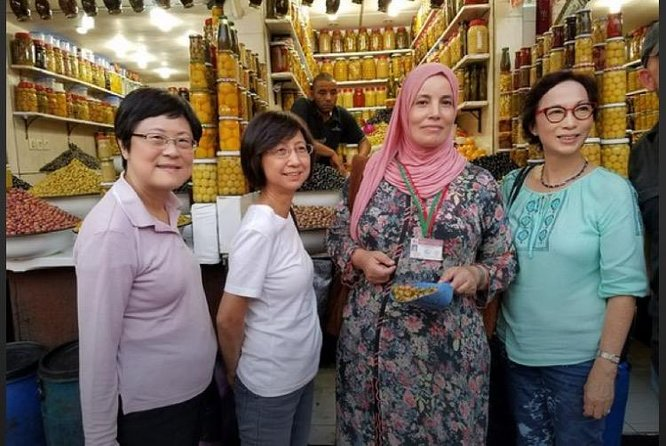 Tasting food tour in Marrakech