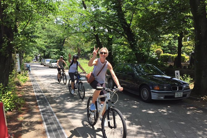 Small Group Cycling Tour in Tokyo