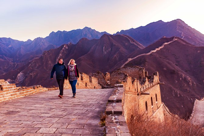 Private Huanghuacheng Great Wall Peaceful Sunset Walking Tour