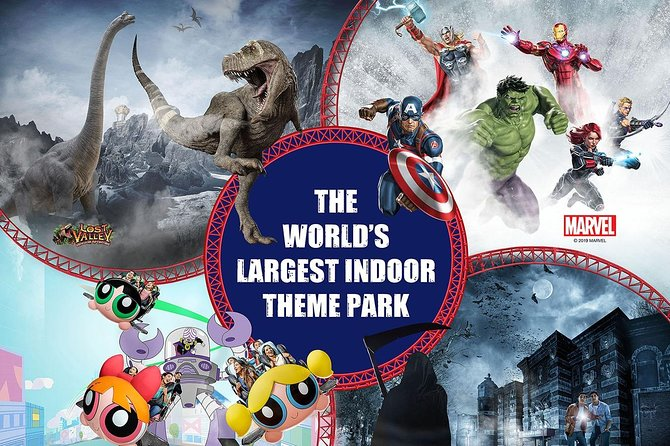 Admission Ticket: IMG Worlds of Adventure