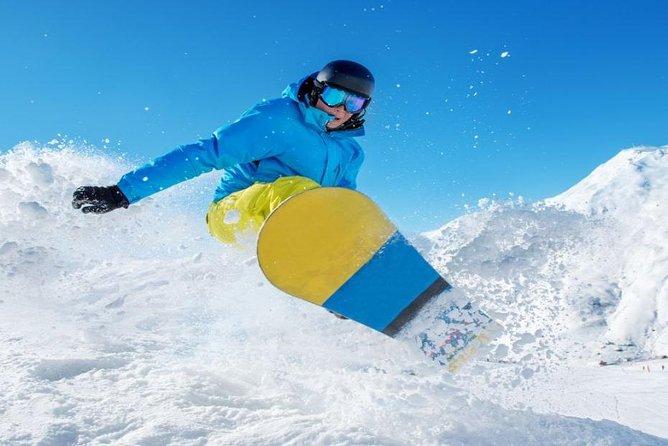 Snowboard-Mietpaket