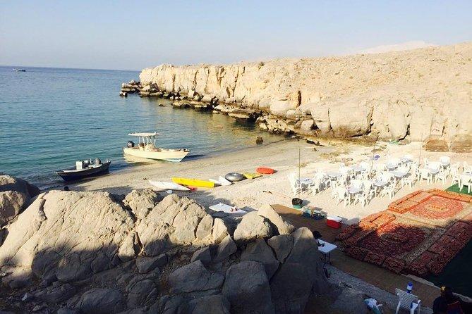 Overnight Beach Camping & Dhow Cruise - Musandam Khasab
