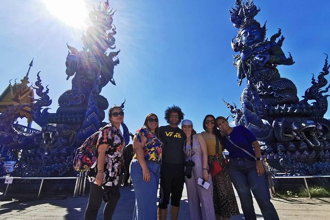 Chiang Rai Temples Small Group Tour: White Temple, Blue Temple & Black House
