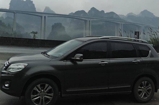 Fenghuang hotel to Longsheng(Longji) hotel