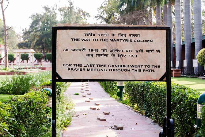 Understanding the Mahatma - Tour of Gandhi's Life and Monuments in New Delhi