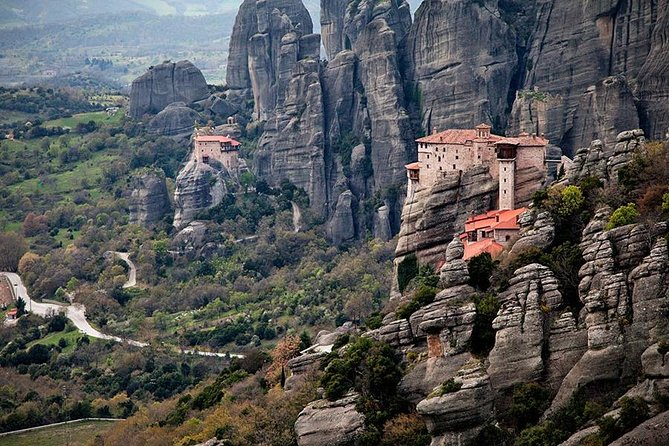 Meteora One Day Trip from Corfu