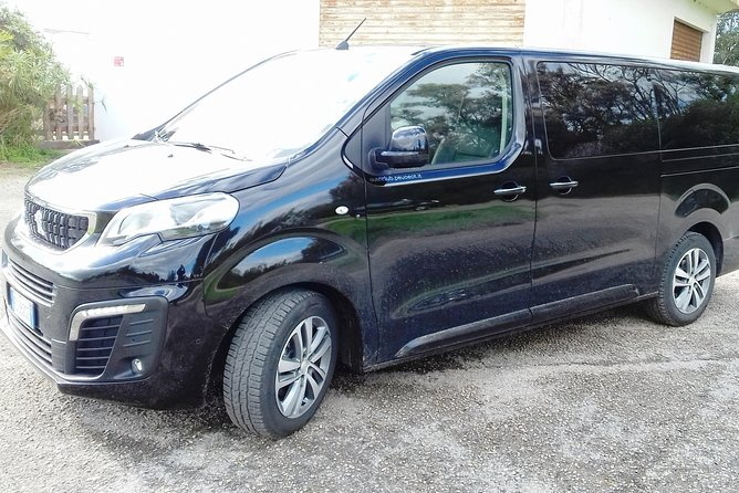 Departure Private Transfer from Sassari City to Alghero Airport AHO by Minivan