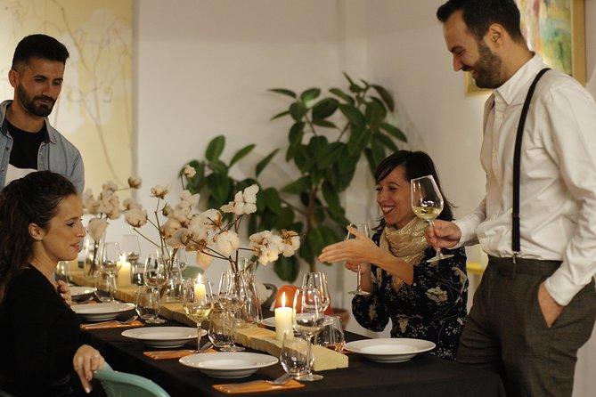 Mediterranean & organic dinner with wine pairing