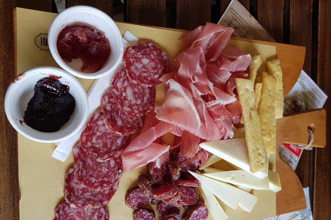 Rome to Tuscany Wine and food