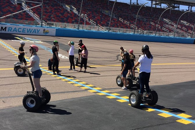 2-Hour Phoenix Raceway Segway, Fat Tire Scooter or Limo Golf Cart Tour