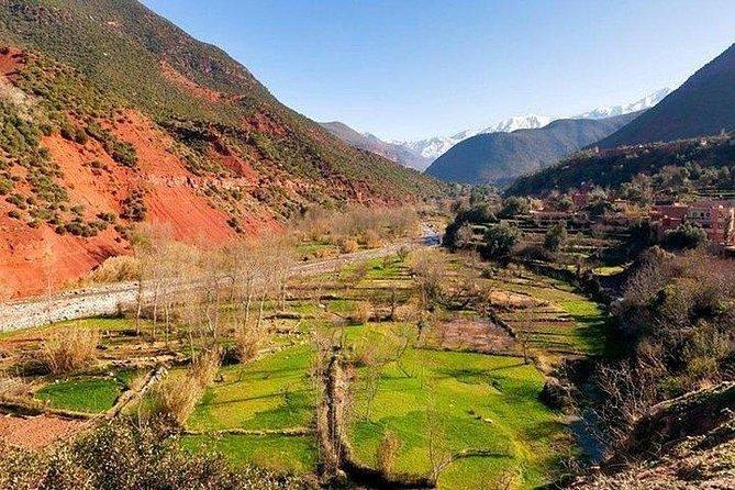 1 Day Three valleys Excursion( Ourika & Asni & Kik /Barrage) - Private