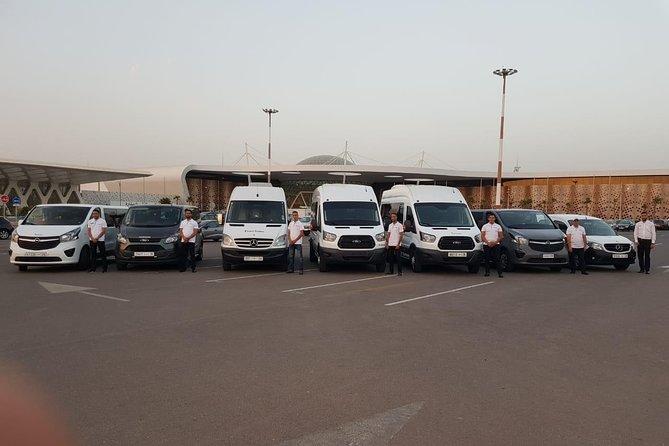 Transfert privé à l'arrivée ou au départ de l'aéroport d'Agadir
