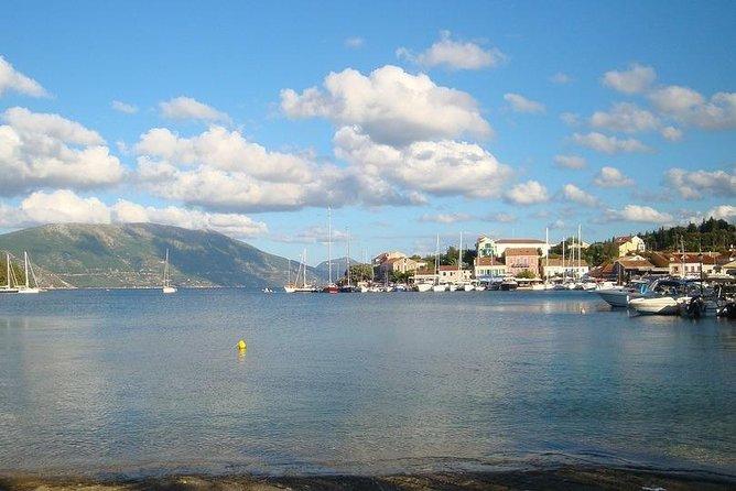 Arrival Private Transfer Kephalonia Airport EFL to Argostoli in a Minibus