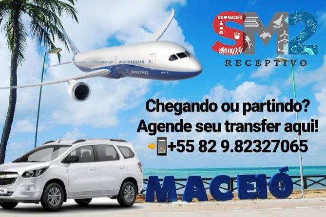 Translado Privativo de Chegada ou Partida Aeroporto e Hotéis de Maceió