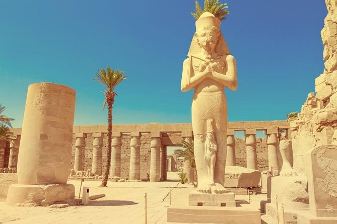 Luxor East and West Bank: Valley of the kings, Habu Temple,Karnak&Luxor Temples