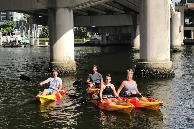 Single Kayak Rental to Explore the Waters of Tampa Bay