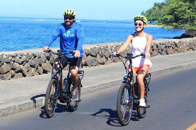 Maui: Self-Guided Electric-Bike Lahaina & Ka'anapali Sights!