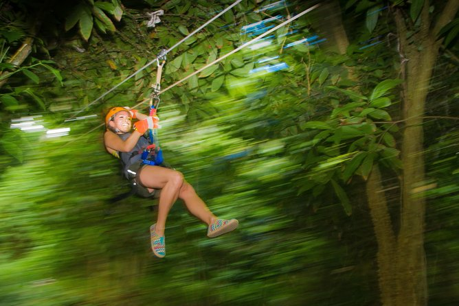 Punta Cana: Anamuya Jungle Canopy Zipline Adventure