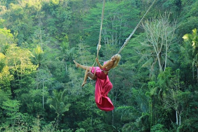 Bali Swing Ubud Private Day Tour