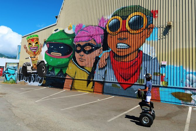 Guided Street Art Hoverboarding Tour of Kaka'ako, Magic Island, Ala Moana & More
