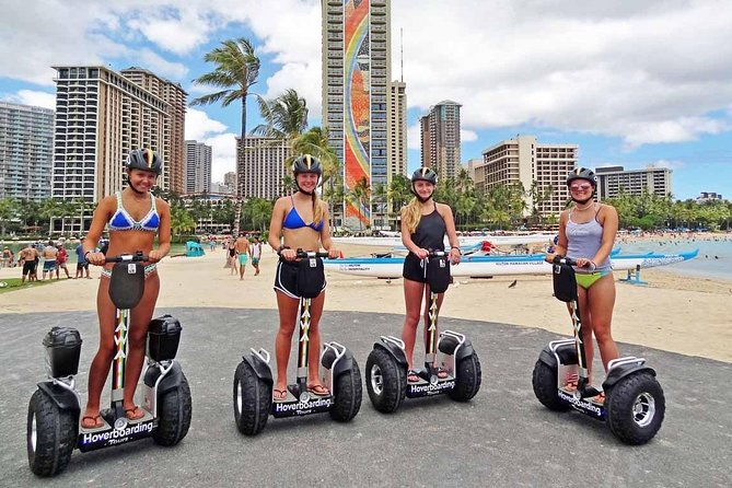 Magic Island and Ala Moana Beach Park Hoverboard Tour