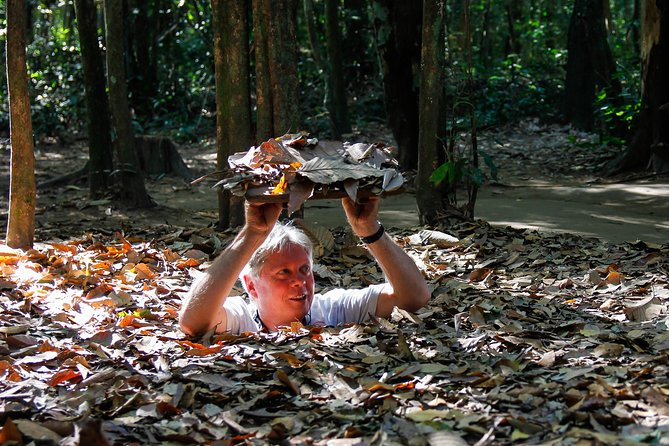 Shore Excursion: Half-Day Cu Chi Tunnels Tour from Sai Gon Port
