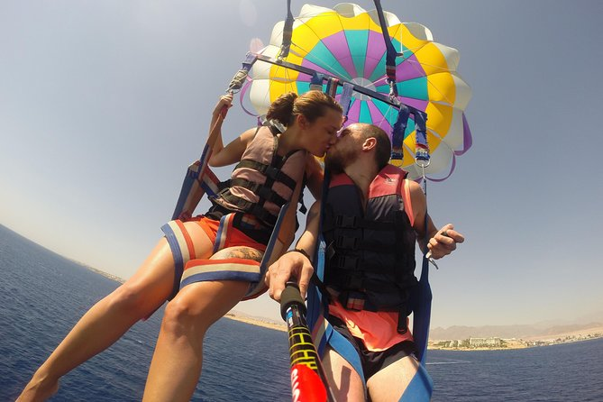 Bali Romantic Couple Tour with Parasailing Adventure