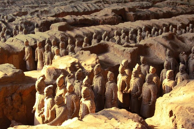 Bullet train to Xi'an Terracotta Warriors; LuoYang Grottoes (Start from Chengdu)