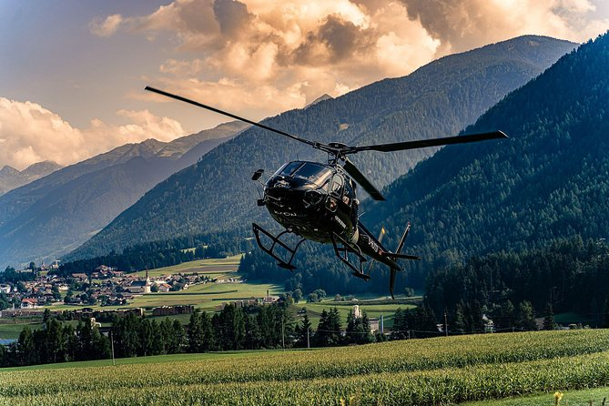 Helicopter tour over the Drei Zinnen