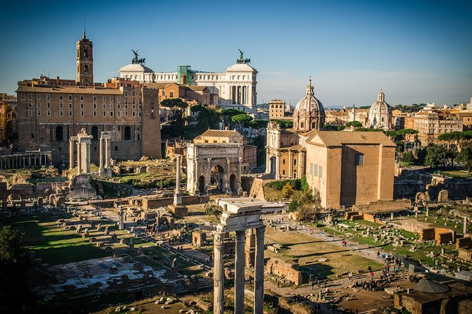 The Colosseum, the Roman Forum and the Palatine Hill Private Skip the Line Tour