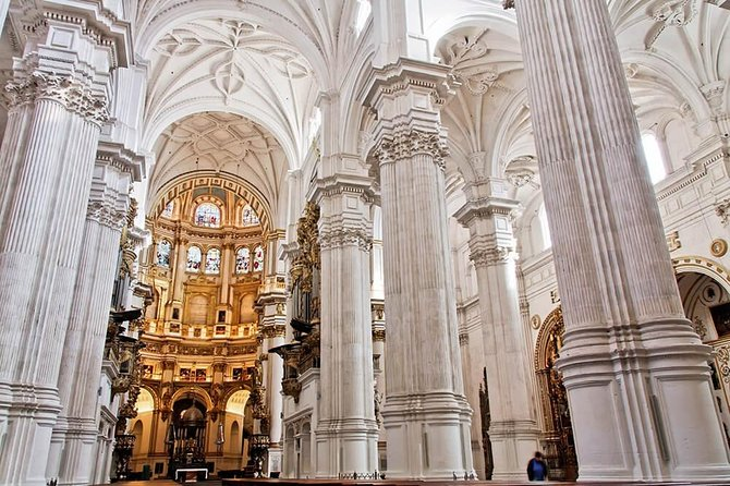 Tickets included: Cathedral Route, Royal Chapel and Cartuja Monastery Granada