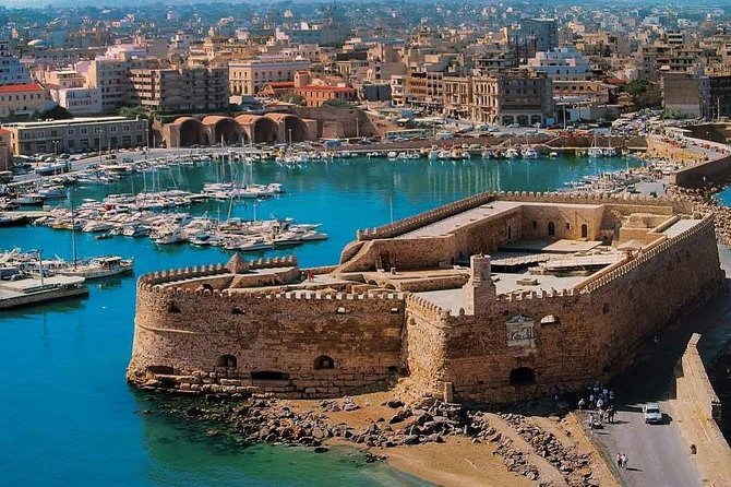 3 Day Greek Island Tour in Crete & Santorini, Volcano Tour & Knossos Palace
