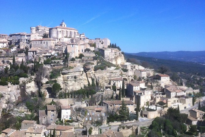 Provence Luberon Hilltop Villages & Antic Market Day Trip from Marseille