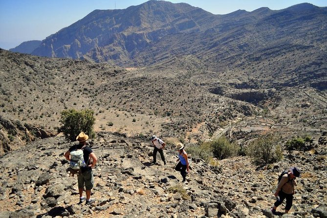 Jebel al Akhdar - Rose Garden/Balad Sayt Village/Diana's Point